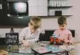 Happy kids at Twins Apartments Brasov-Brasov