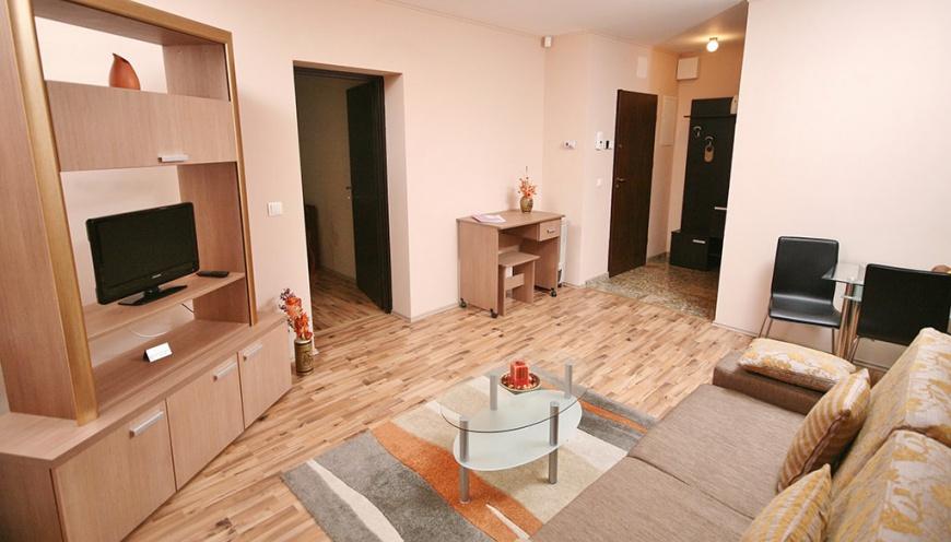 Modern living apartment