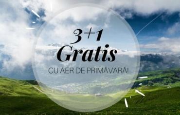3 nights + 1 free-Brasov